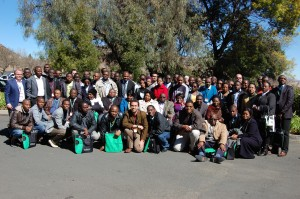 Group photo of some delegates at the climate smart agriculture dialogue